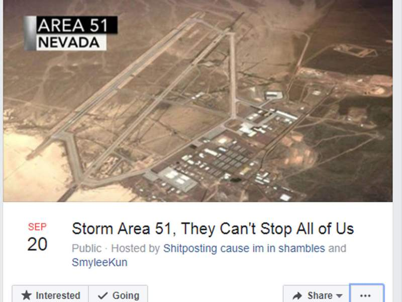 Storm Area 51, They Can't Stop All of Us