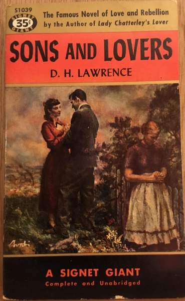 Sons and lovers by D. H Lawrence