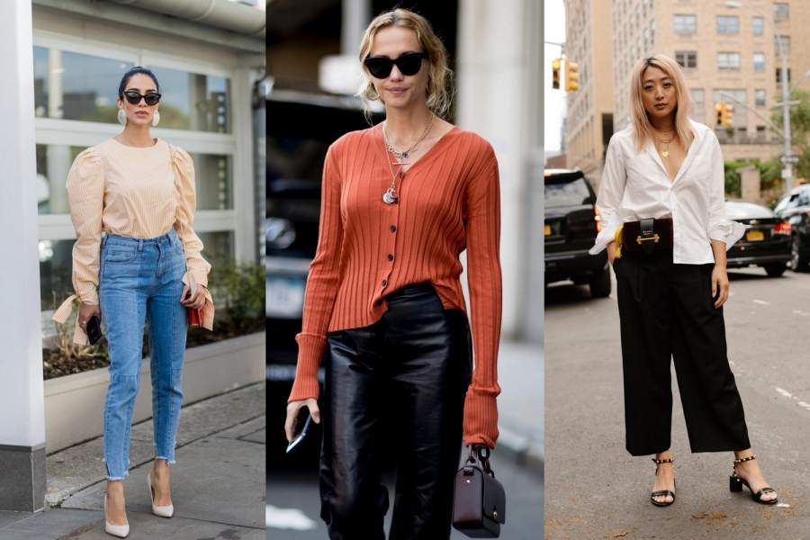 Tuck in a Blouse