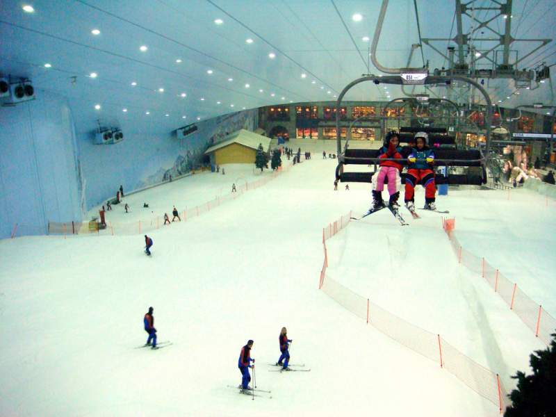 Indoor Skiing Dubai