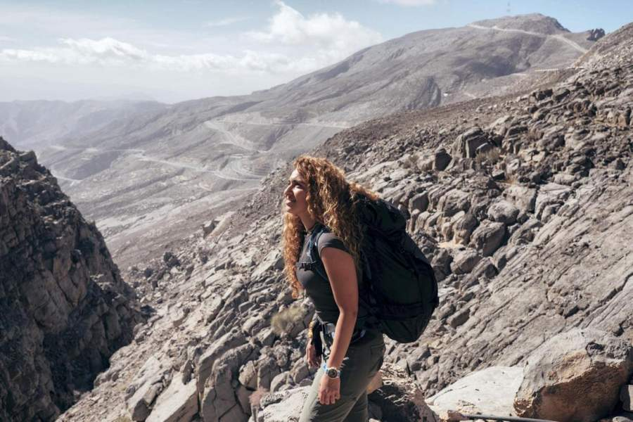 mountaineering experience in Dubai
