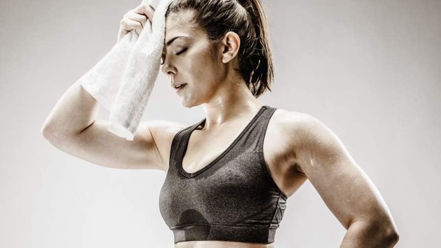 More sweat means more fat is burning