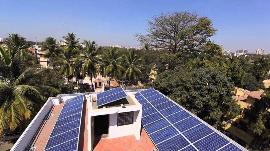 Solar panels for home in India