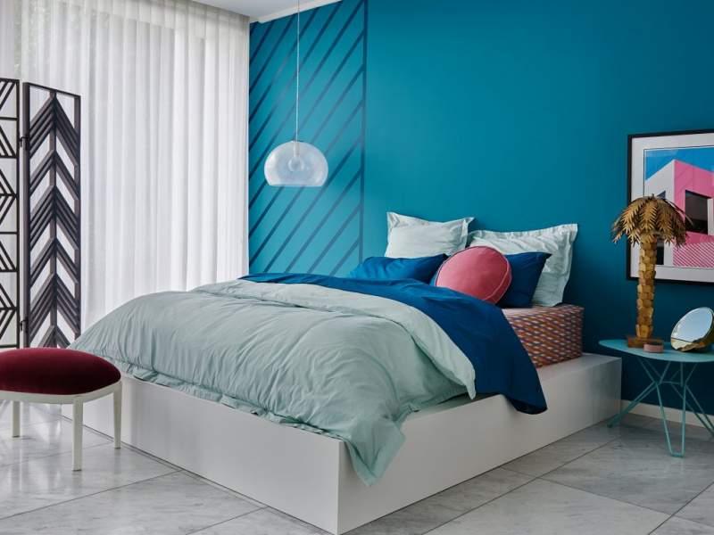 Blue Bedroom Wall Colour