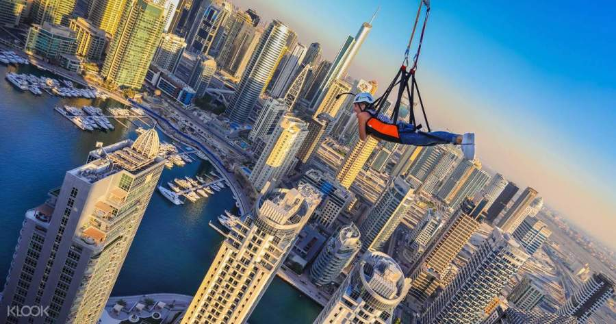 Ziplining Experience in Dubai