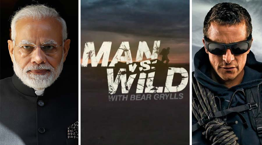PM Narendra Modi To Get Featured on The Popular Show 'Man vs Wild' Show with Co-host Bear Grylls