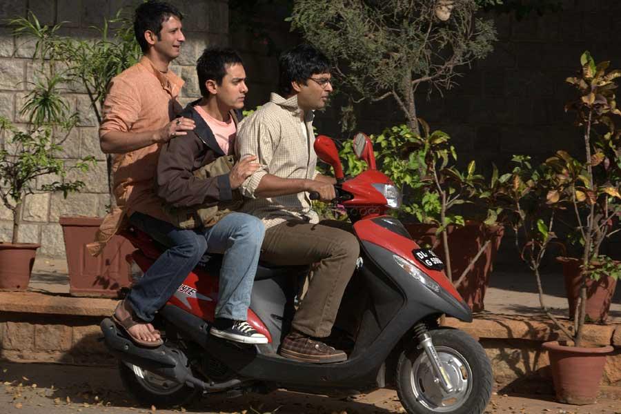 3 Idiots- Rancho, Raju, and Farhan