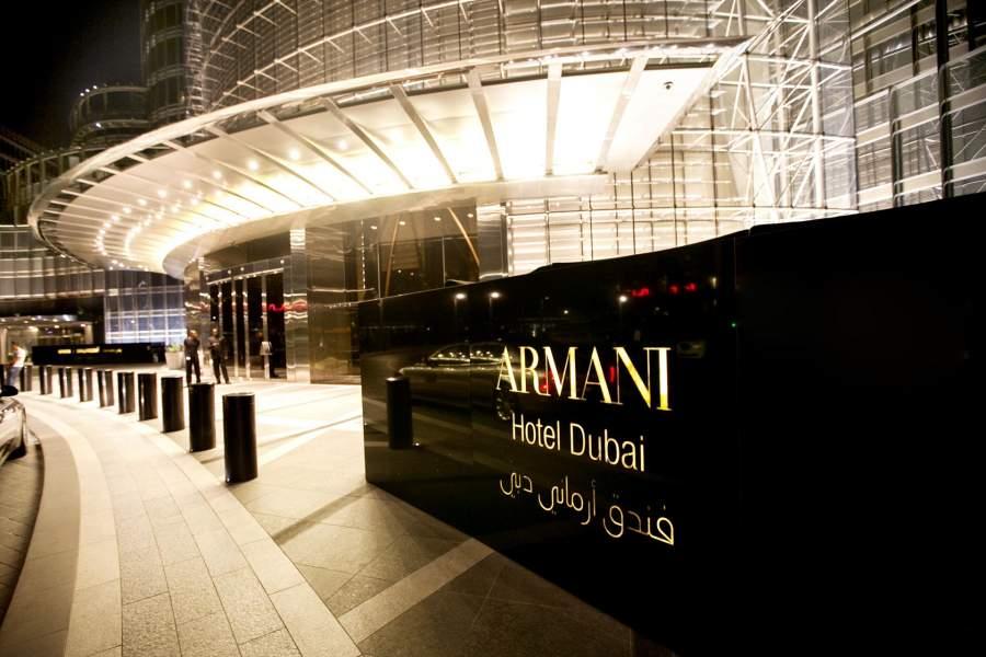 Armani, The Armani Dubai, UAE