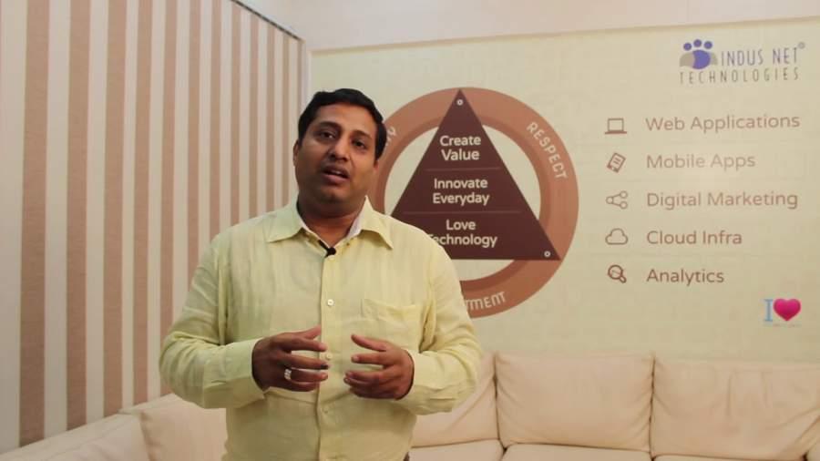 Abhishek Rungta, Indus Net Technologies