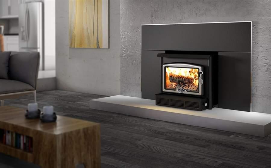 fireplace inserting