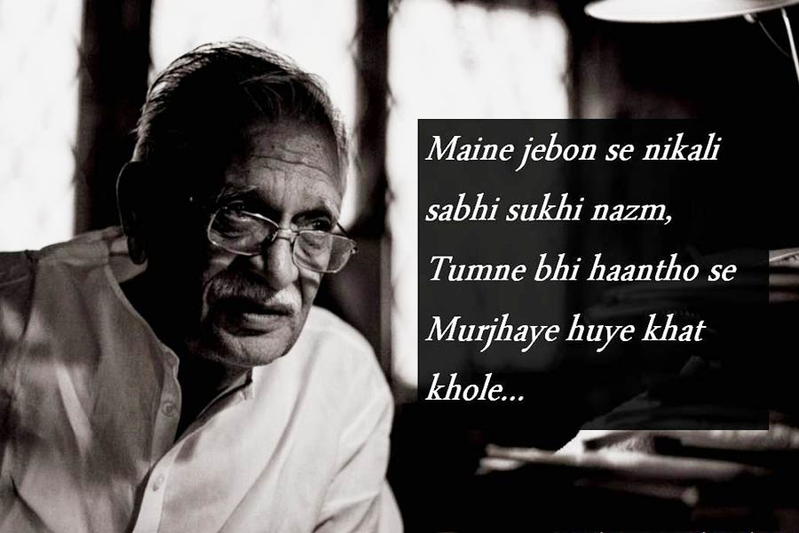 7 Extremely Beautiful Excerpts From Gulzar's Poems