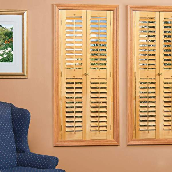 Size of the shutters