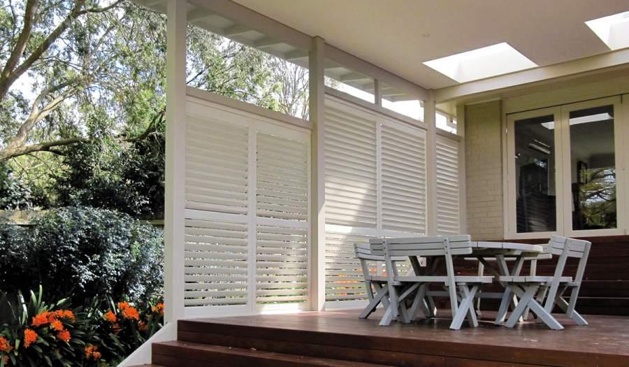 External or internal shutters