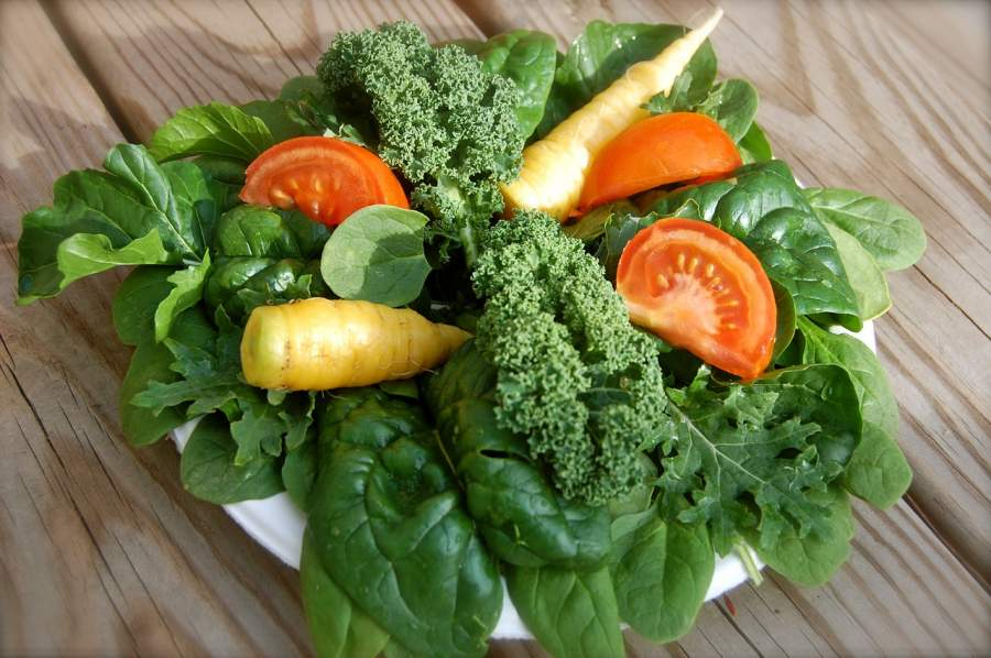 Leafy Greens for healthy smile