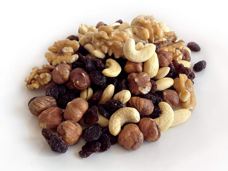 Nuts and Seeds for healthy smile