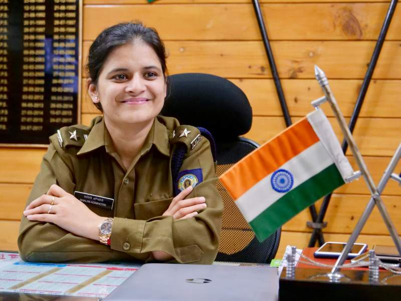 Shalini Agnihotri Makes Her Way To Become An IPS Officer