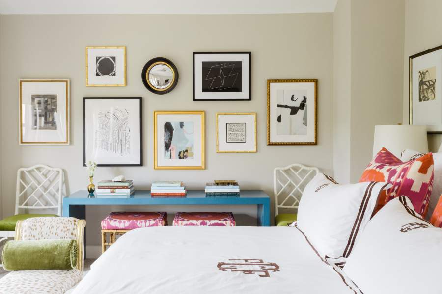 Create a Gallery Wall for Bedroom
