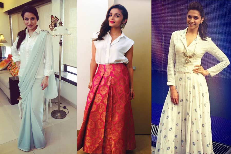 5 Unique Ways To Style Up Boring White Shirts with Your Indian Outfits