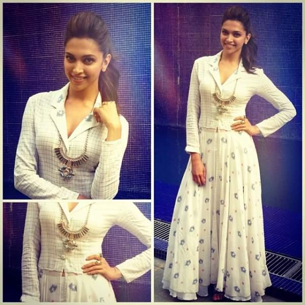 Fashionista Deepika Padukone's inspired look