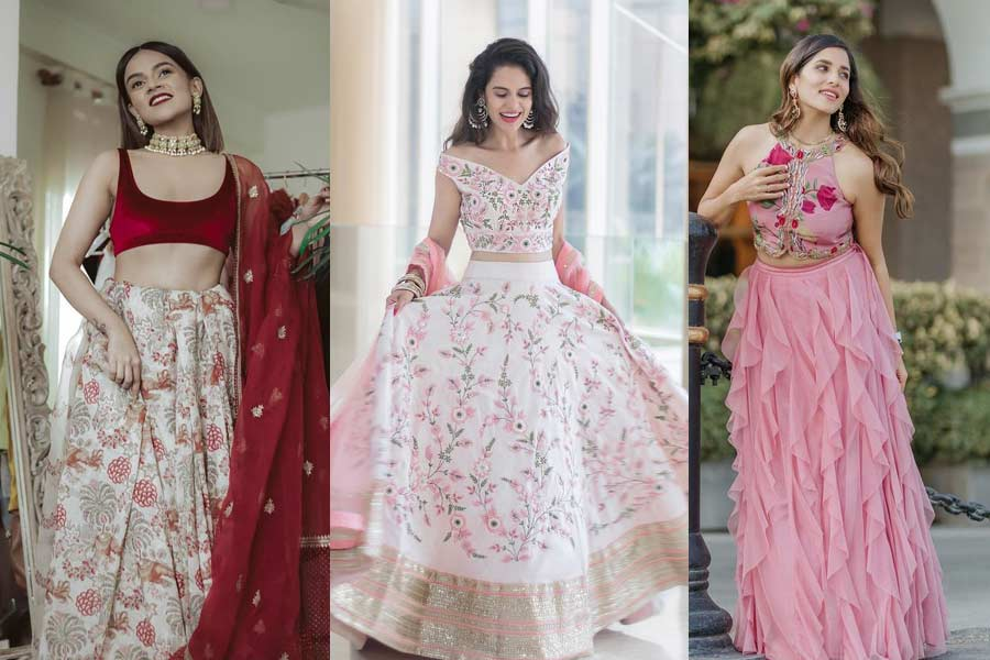 Indian Fashion Bloggers Inspired Bridesmaid Dresses