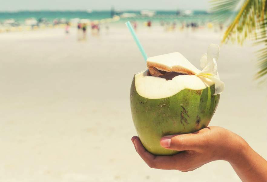 6 Surprising Benefits of Drinking Coconut Water