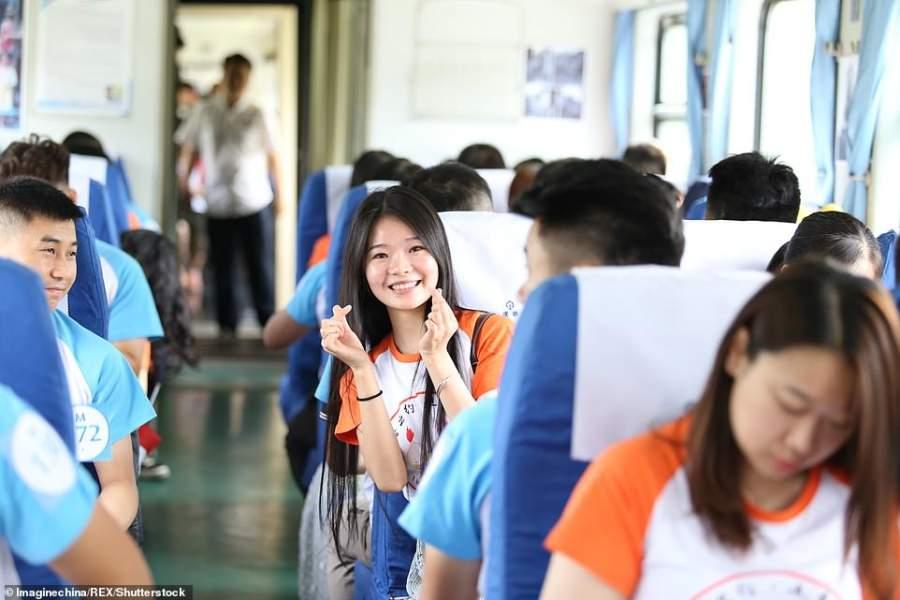 Love Pursuit Train in China