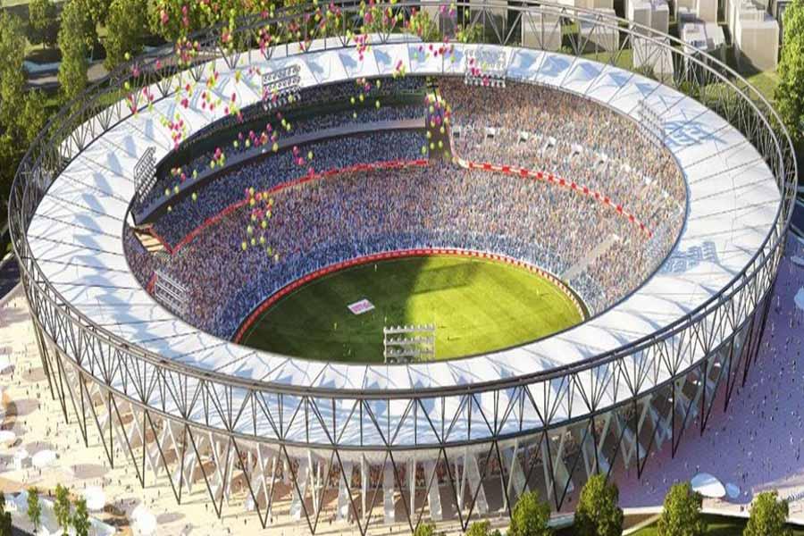World's Largest Cricket Stadium : Motera Stadium