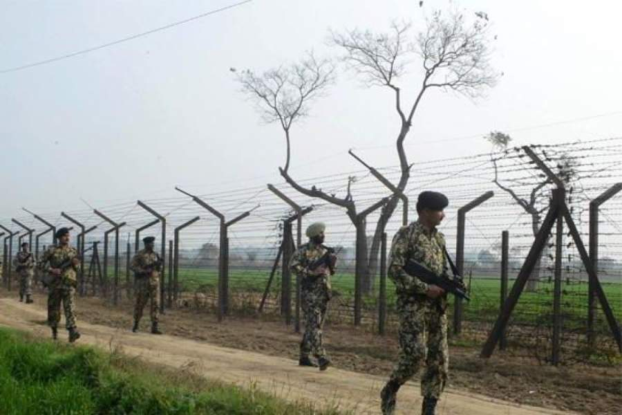 India & Pakistan border