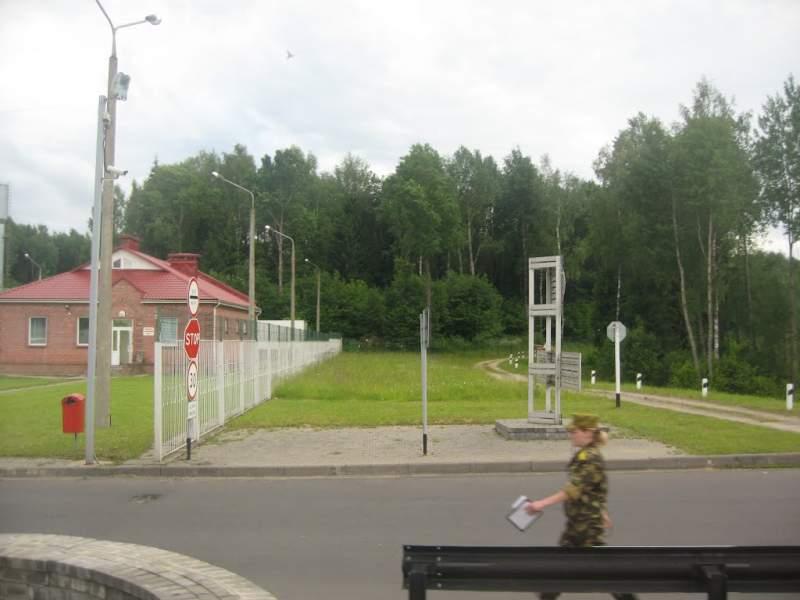 Belarus & Lithuania border