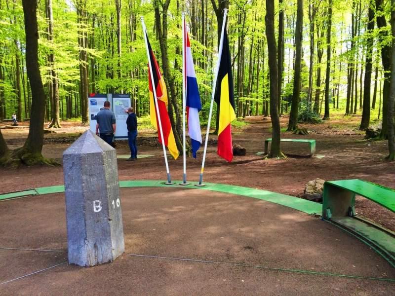 Germany, Netherlands & Belgium border