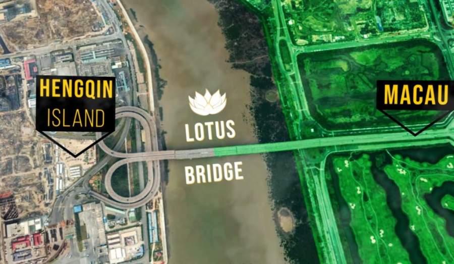 Macau & China border