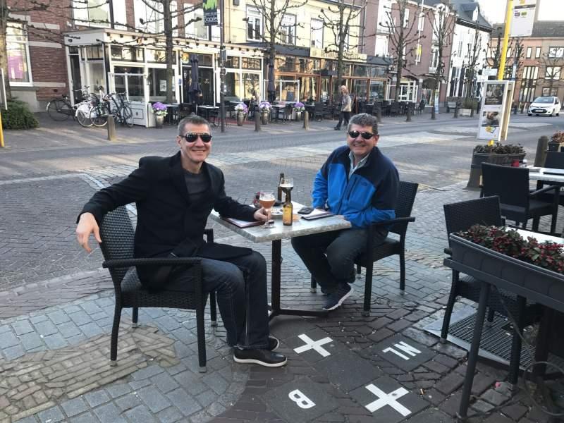 Netherlands & Belgium border
