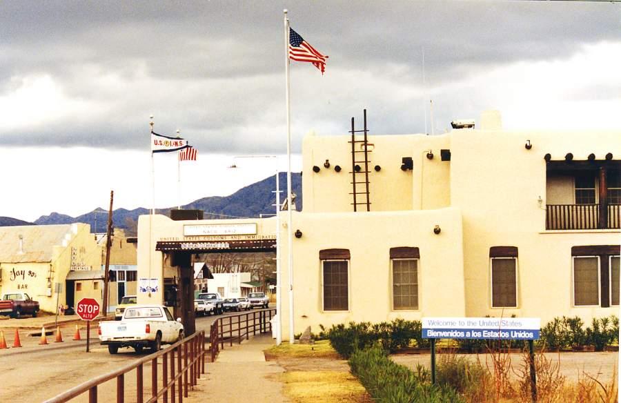 Naco, Arizona & Naco Mexico Border