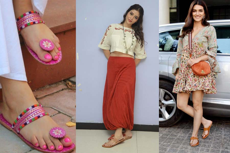 Rock Your Look with Kolhapuri Chappals