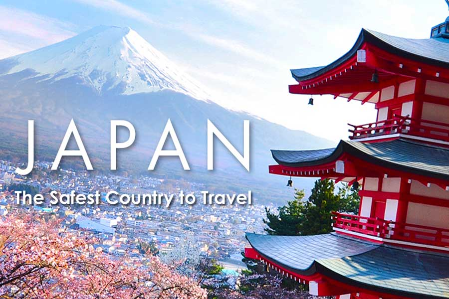 Japan is The Safest Country to Travel