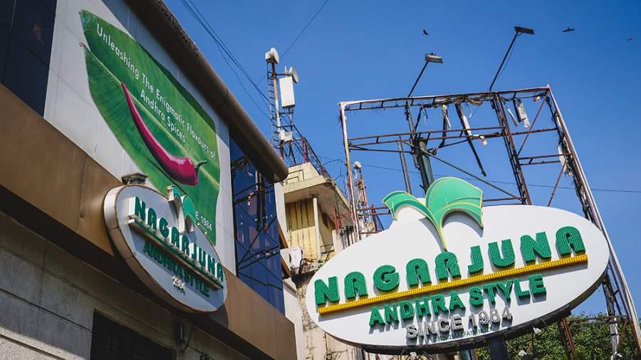 Nagarjuna, Residency Road