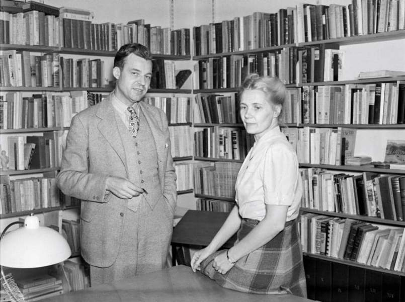 Alva Myrdal and Gunnar Myrdal