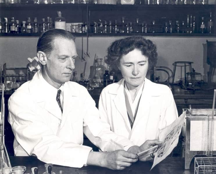 Carl Cori and Gerty Cori