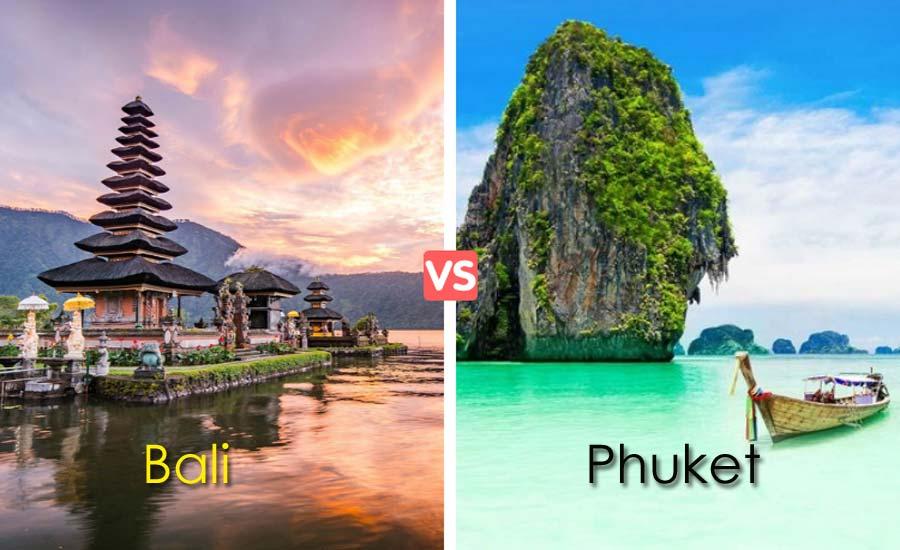 Decide Your Honeymoon Location Between Bali and Phuket