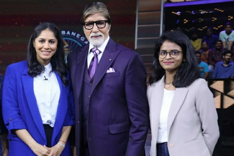 Manasi won Rs. 25 lakh on the show KBC