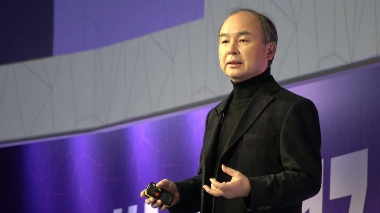 Who is the founder of Softbank