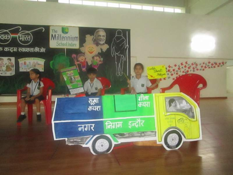 Children were made ambassadors of Swachh Bharat