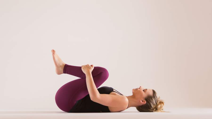 Knee-chest pose