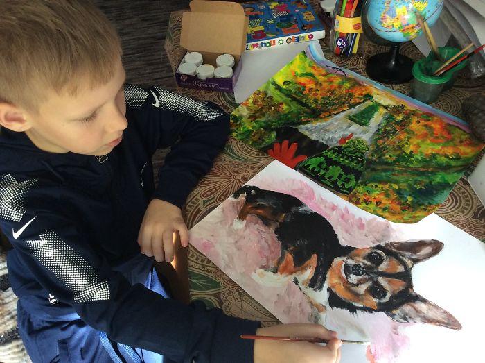 Pavel's Handmade Animal Paintings