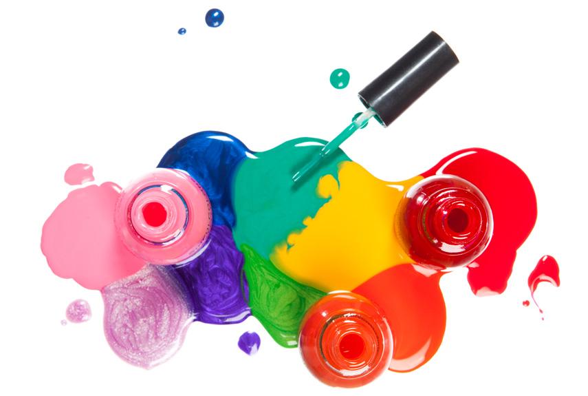 Nail Polish was made from car paint