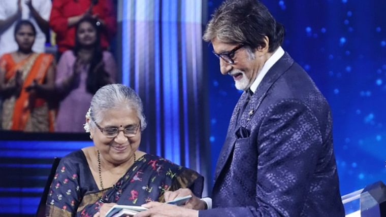 Sudha Murthy will be the guest for the final episode of KBC