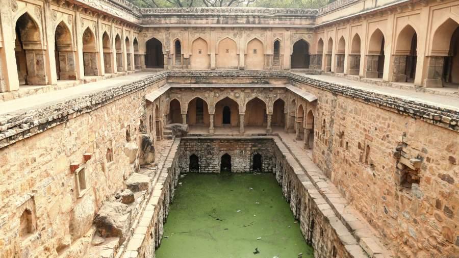 Rajon ki Baoli, Delhi
