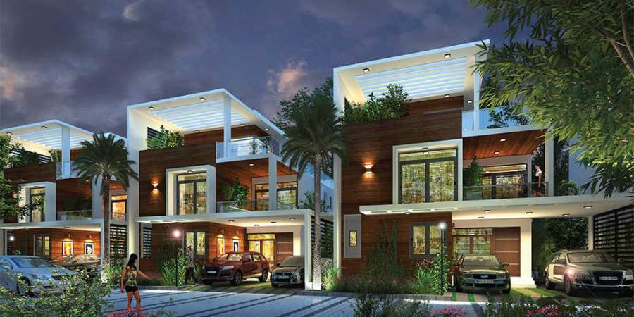Amenities available in residential villas