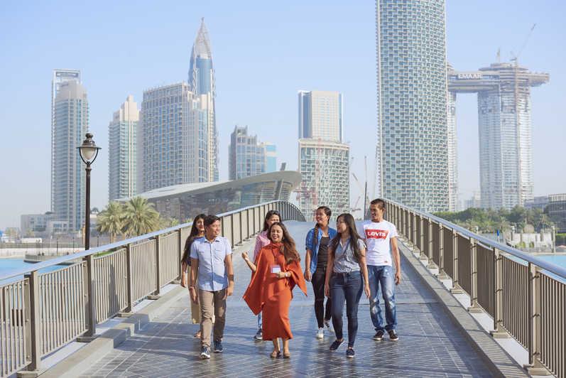 Dubai city is not good for walking