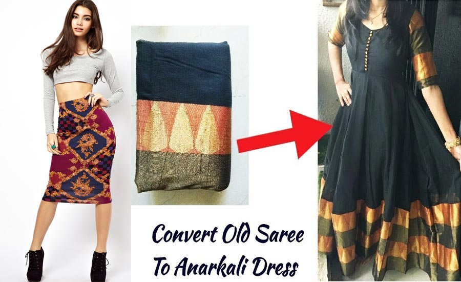 7 Fashionable Styles Out of Your Mom's Old Saree
